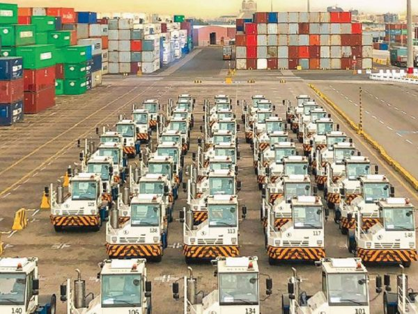 With initial investment of SAR 1 billion RSGT welcomes the first batch of modern advanced terminal equipment's