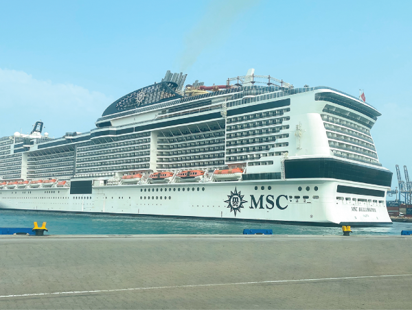 RSGT Expands Services into Saudi Cruise Industry – Embarkation and departure of MSC Bellissima begins new era at Jeddah Islamic Port